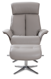 grey recliner chair
