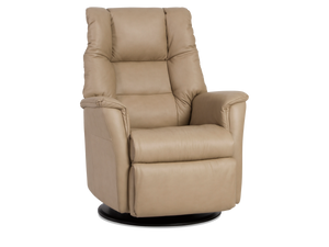 powered recliners leather