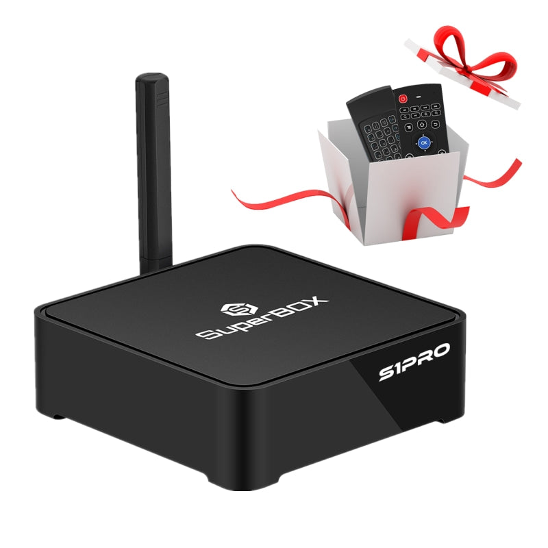 SuperBOX S1 Pro-The Best Android TV Box No Monthly Fee