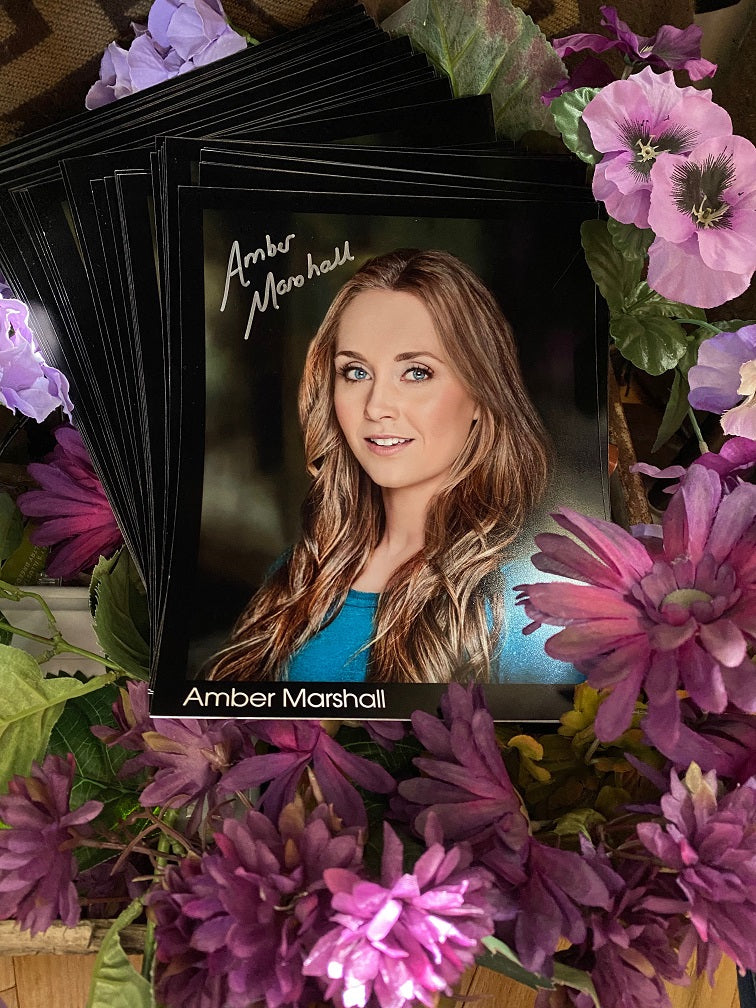 Autographed Photo:  Amber's Official Headshot 2020