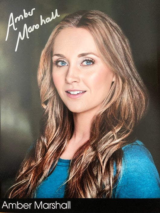 Personalized Autographed Photo: Amber's Official Headshot 2020