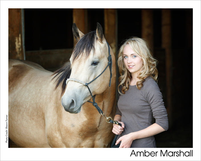 Autographed Photo: Amber & Handsome Cash
