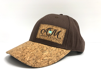 NEW! Limited Edition Brown Ball Cap with Cork Details
