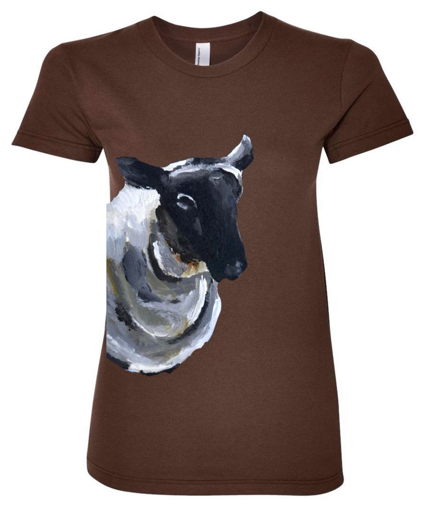 Where'd Cow Go? - Ladies Sheep T-Shirt