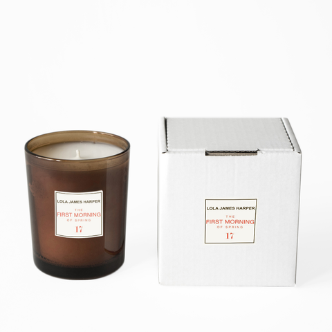 Lola James Harper - No 17 The First Morning of Spring Candle