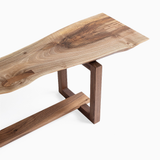 Brett Yarish - Black Walnut Bench