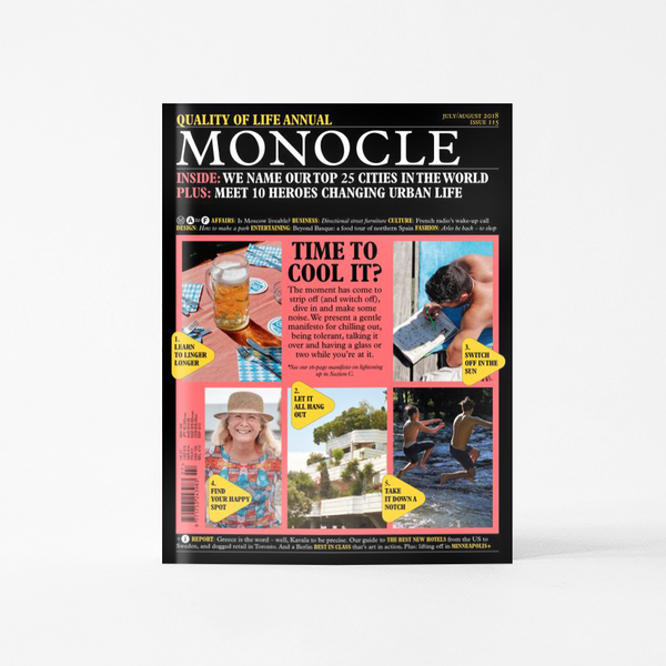 Monocle Magazine - July / August 2018