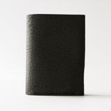 Postalco: Goatskin Card and Coin Wallet - Moss Green