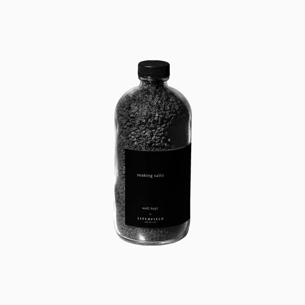 Well Kept x LITCHFIELD Black Hawaiian Soaking Salts