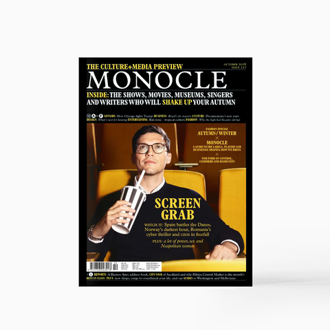 Monocle Magazine - October 2018
