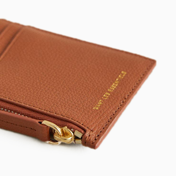 WANT les Essentiels - Adano zipped cardholder, amber