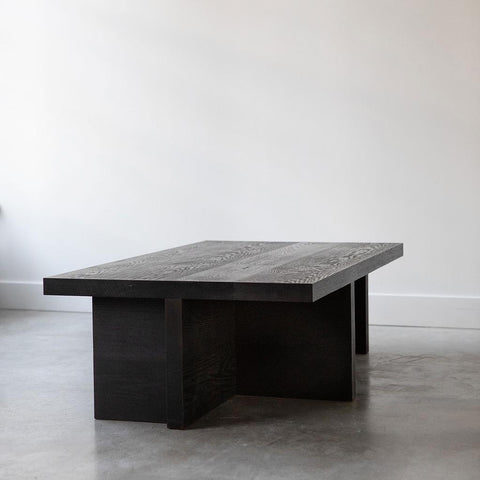 Brett Yarish - Charred Oak Coffee Table