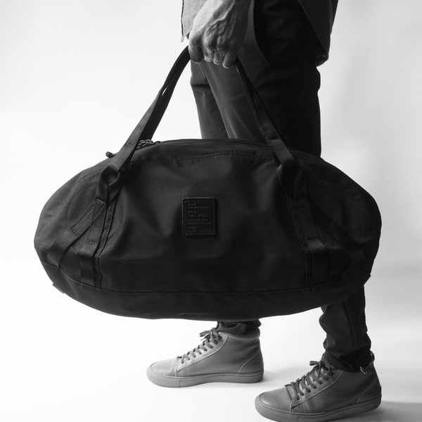 Red Flag Design Small Duffle