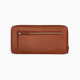 WANT Les Essentiels - Liberty Travel Zip Wallet (Cognac)