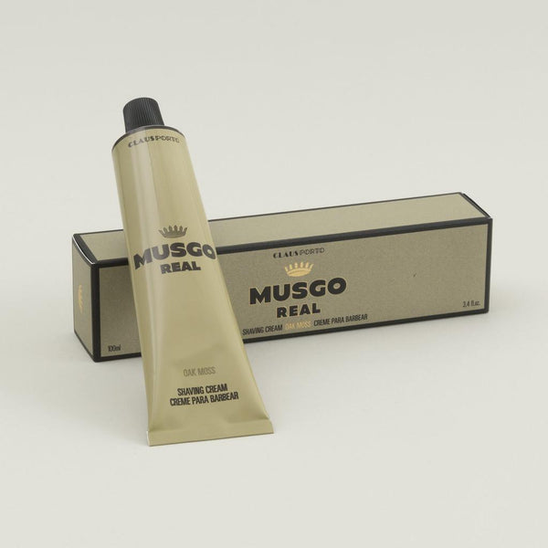 Musgo: Shaving Cream (Oak Moss) - 100ml