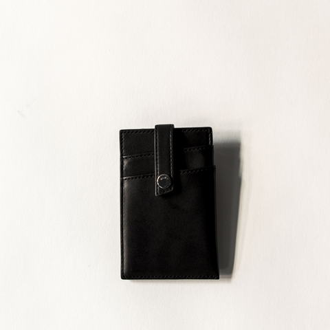 WANT Les Essentiels - Kennedy Money Clip Wallet (black)