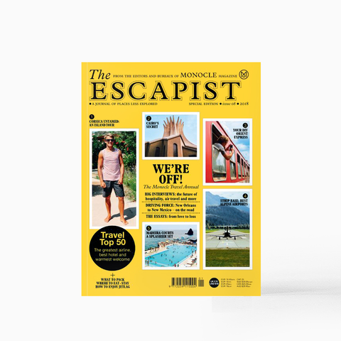The Escapist - Monocle SPECIAL EDITION Issue 08 2018