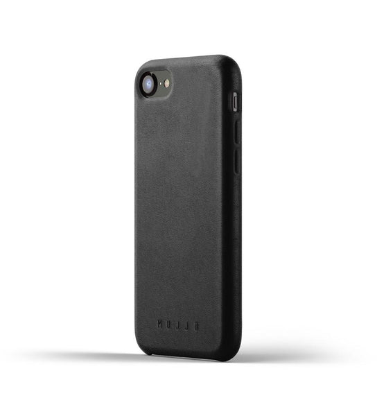 Mujjo - Full Leather Case for iPhone 7/8, Black