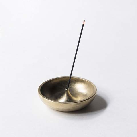 Brass Bowl Incense Holder