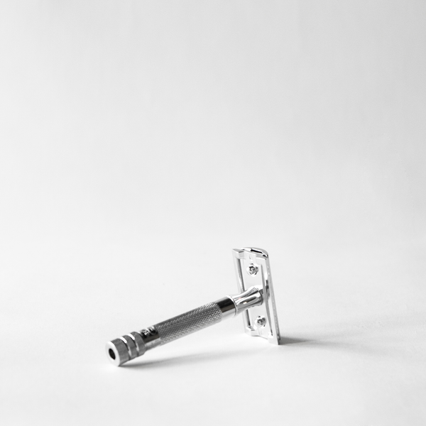 Merkur Double Edge Safety Razor, Straight Cut - chrome