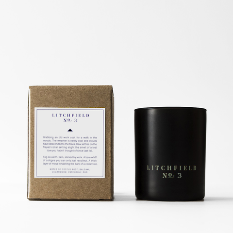 Litchfield No. 3 Scented Candle