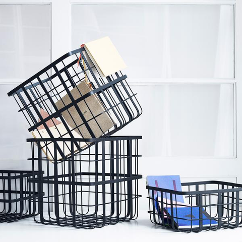 Metal Frame Baskets