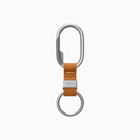 Orbitkey Clip Leather, tan