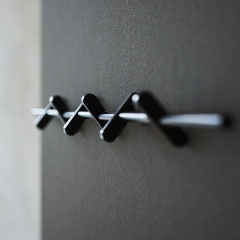 Moebe- Coat Rack/Black 70 cm