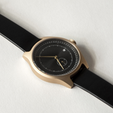 Squarestreet Watches - Aluminum Series (Gold/Black/Brown)