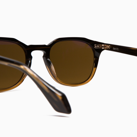 Dutil Sunglasses - HSD 05 Sirop D'érable Gold / Polarized Brown