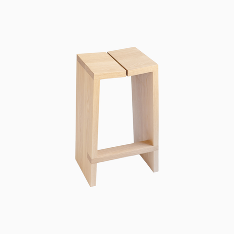 Brett Yarish - White Oak Wood Stool