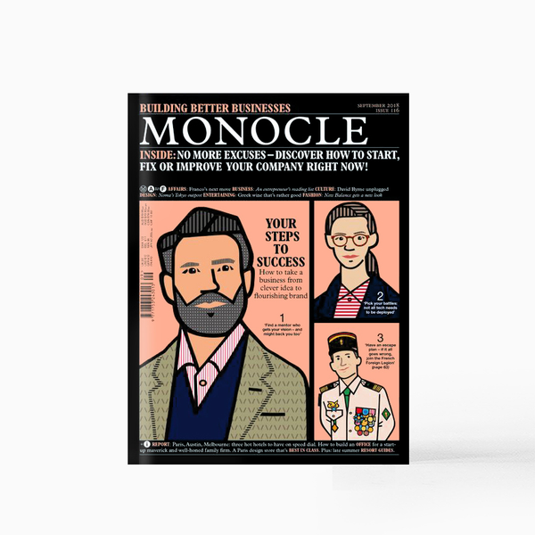 Monocle Magazine - September 2018