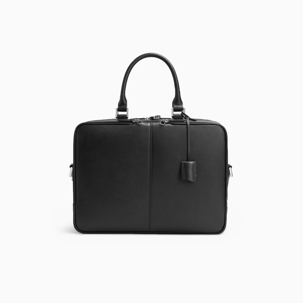 WANT Les Essentiels: Trudeau 17 Computer Bag (Black Caviar)