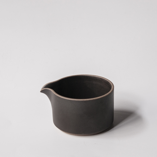 Hasami: Black Milk Pitcher