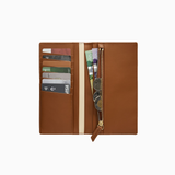 Want les Essentiels- Flemming Slim Wallet, Amber