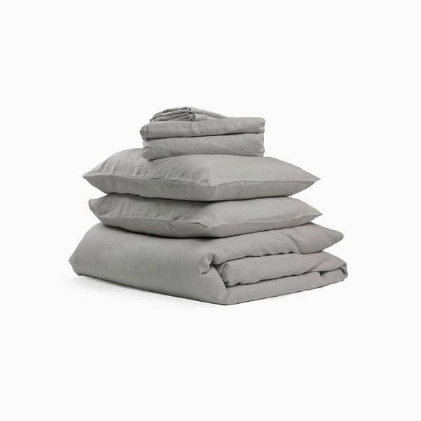 Flax Sleep Duvet Set Queen