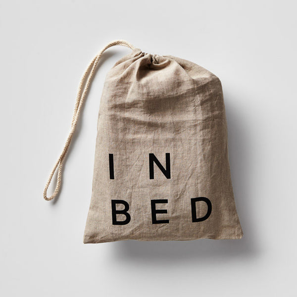 INBED - Linen Fitted Sheet (Queen)