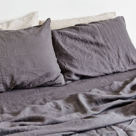 INBED - Linen Flat Sheet (King)