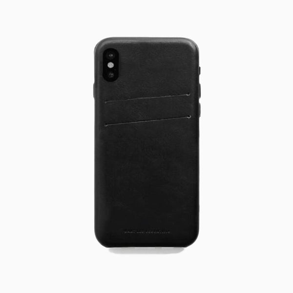 WANT Les Essentiels - Newberry iPhone X Case Black