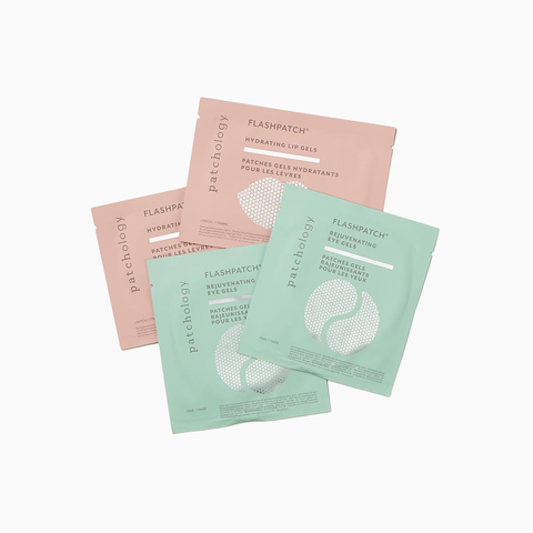 FlashPatch® Wink & Kiss - 2 Rejuvenating Eye & 2 Hydrating Lip HydroGel Patches