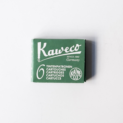 Kaweco Ink Cartridges (Green)