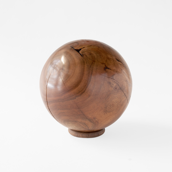 Howkins - Hand Turned Maple Wood Sphere (sm)