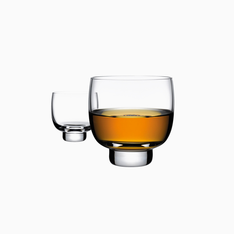 Malt Whiskey Bottle and Tray, w/ 2 whiskey glasses