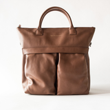 WANT Les Essentiels - OHare Leather Shopper Tote (cognac)