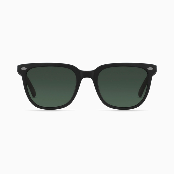 Raen - Arlo Matte Black + Matte Brindle / Green Polarized