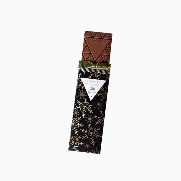 Compartés Sticky Toffee Milk Chocolate Bar