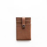 WANT Les Essentiels - Kennedy Money Clip Wallet (cognac)