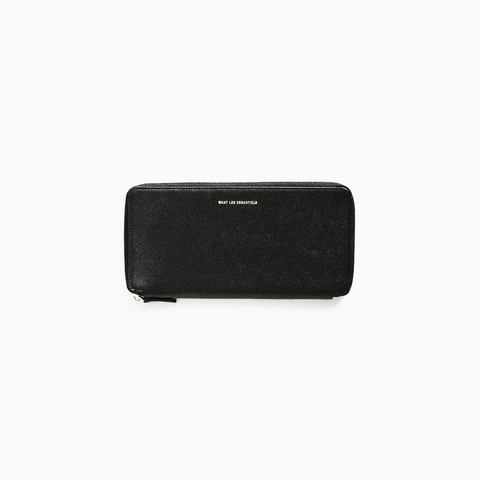 WANT Les Essentiels - Liberty Travel Zip Wallet (blk caviar)