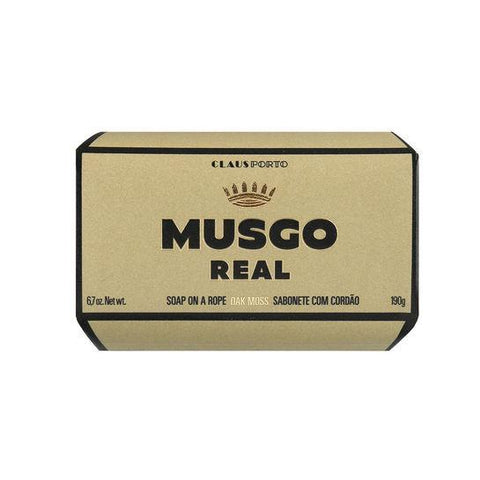 Musgo: Soap on a Rope (Oak Moss)