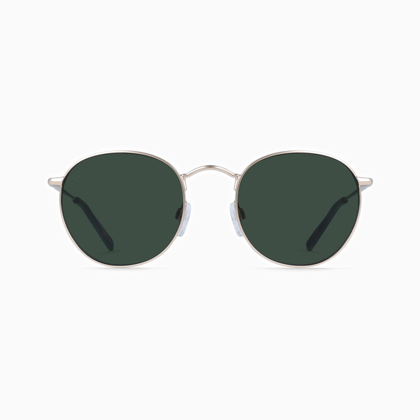 Raen - Benson (Japanese Gold/Brindle Tortoise/Green Polarized) 48